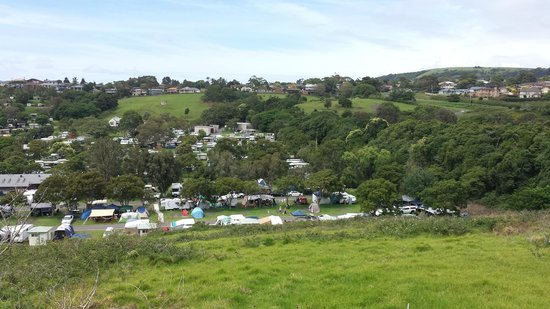 BIG4 Easts Beach Holiday Park : General view of the park