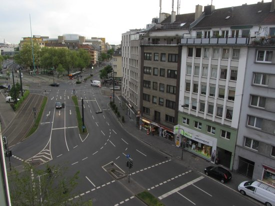 Hotel Residenz: вид из окна