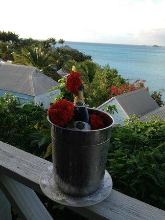 Cocobay Resort: Prima sorpresa al nostro arrivo