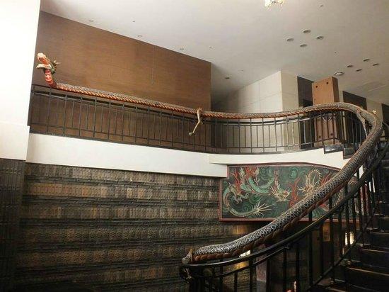Hotel Commodore Busan: Merdivenler