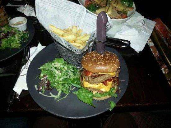 Burger spicy photo de au bureau enghien les bains tripadvisor