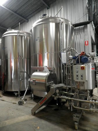 Mt Tamborine Brewery : Brewery area located at the back