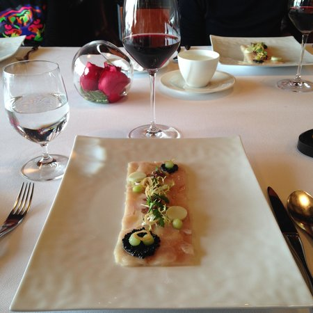 Hamachi Carpaccio - Picture of Caprice (Central), Hong Kong ...