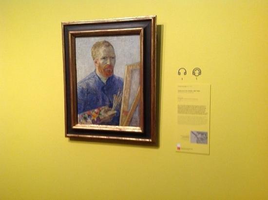 Van-Gogh-Museum: autportait