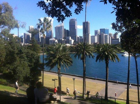 City from Royal Botanic Gardens