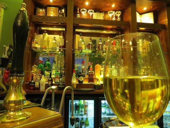 Nanteos Mansion: The bar