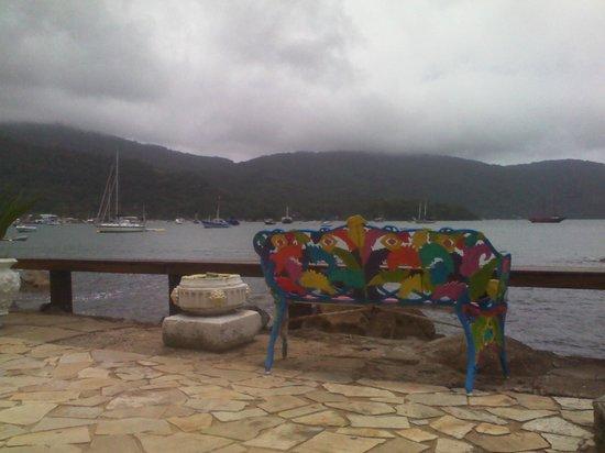 Aquario Hostel: Vista desde el living