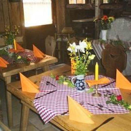Landgasthof Untere Mühle: Schmuck bei Reservierung