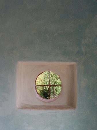 Upper Red House: porch window