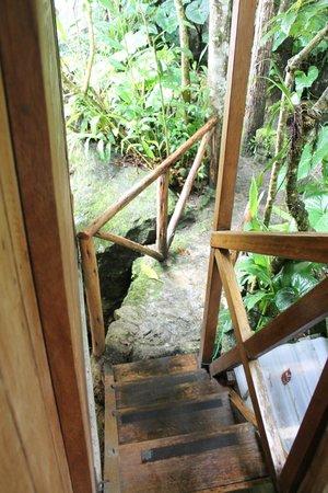 Rupa Wasi  Lodge : Headed outside