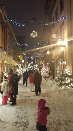 Quartier Petit Champlain : Rue de Petit Champlain