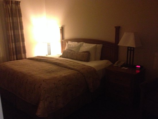Staybridge Suites Sioux Falls: King bed in 1 bedroom