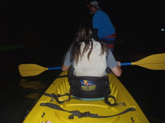 Bioluminescent (Mosquito) Bay : My wife's first time kayaking