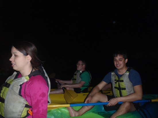 Bioluminescent (Mosquito) Bay : Our group