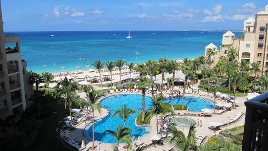 The Ritz-Carlton, Grand Cayman: view from our room