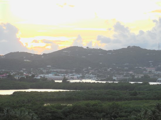 The Buccaneer St Croix : View of Christiansted from Buccaneer bar