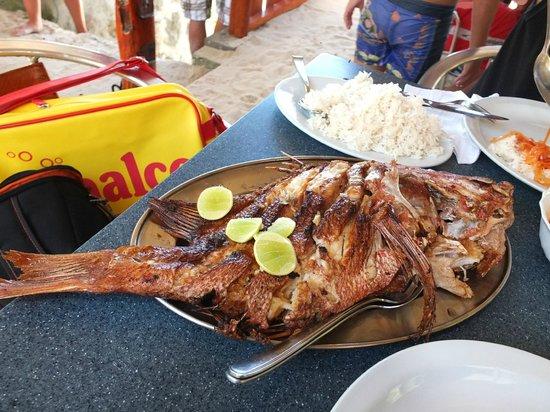 Anse Soleil Restaurant: tasty