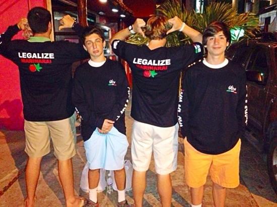 Salvatore's Italian Restaurant: cool shirts, too!