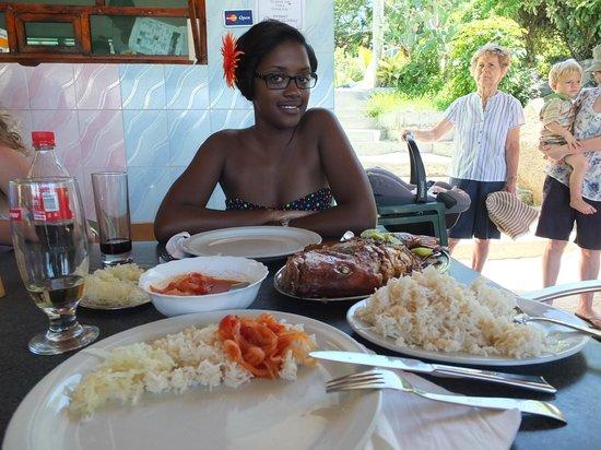 Anse Soleil Restaurant: good