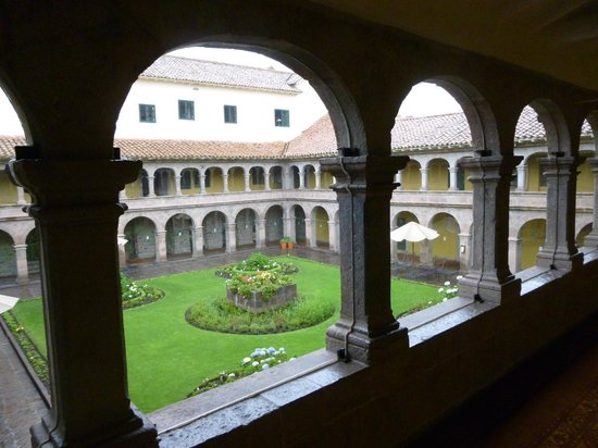 Belmond Hotel Monasterio: Our room opened onto this courtyard; the window opened to a street below