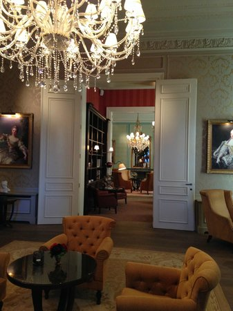 Grand Hotel Casselbergh Bruges: Drawing room