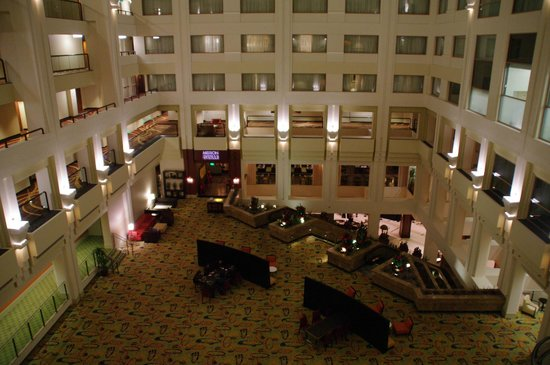 San Francisco Marriott Marquis: inside view, not the Lobby