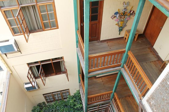 Casa de Baraybar: Looking down from the windows