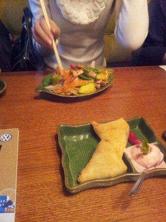 Wok-Cafe Maneki: Десерты тоже прекрасны