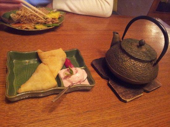 Wok-Cafe Maneki: Вкусный чай и еда