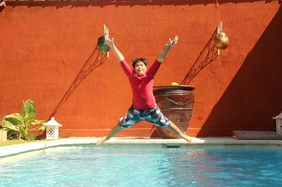 Hotel Puri Tempo Doeloe : Private pool