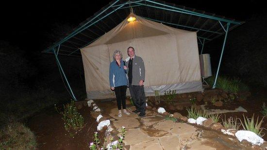 Sentrim Amboseli: tente tout confort
