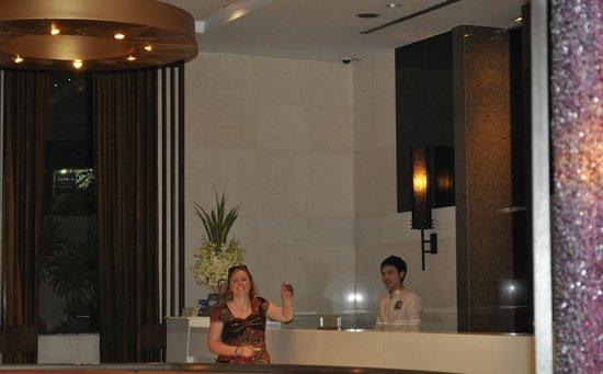 Majestic Grande Hotel : Reception