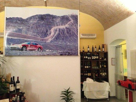 Hotel Maranello Village: Paddock