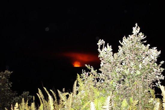 Volcano House: Kilauea während des Abendessens