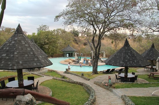 Tarangire Sopa Lodge: piscina