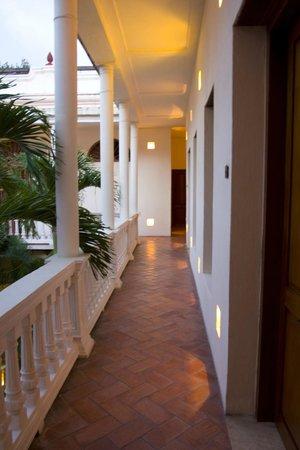 Hotel Quadrifolio: Interior