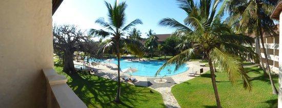 Amani Tiwi Beach Resort: vue de la chambre