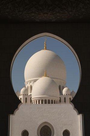 Scheich-Zayid-Moschee: entrance gate