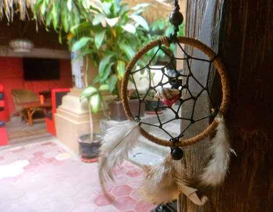 Babel Guesthouse: Follow your dreams! A lot of dream catchers in Babel :)