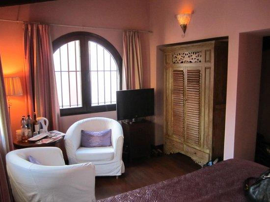 El Rey Moro Hotel Boutique Sevilla: Room 29 sitting area