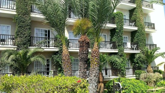 Anais Bay Hotel : вокруг зелень
