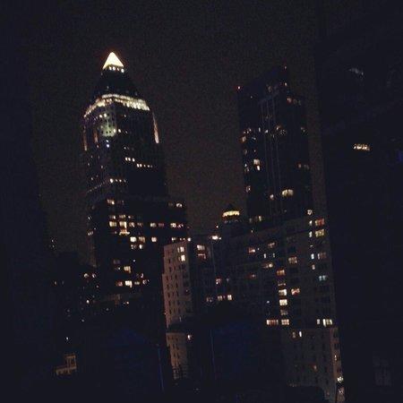 Ameritania Hotel: Room view at night