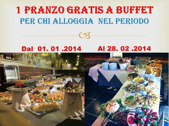 Casa Vacanza Frendy : 2 lunch free
