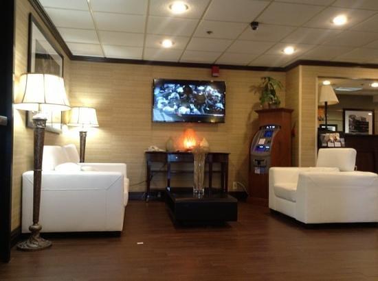 Hampton Inn Newark-Airport : Lobby