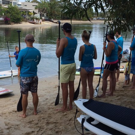 Noosa Stand Up Paddle : Lesoon
