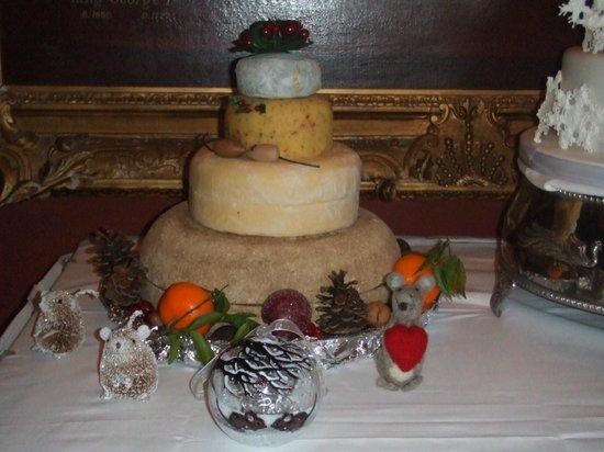 "Crathorne Hall Hotel: The Cheese ""Wedding Cake"""