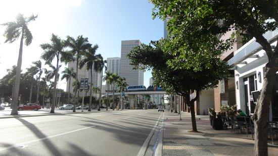 YVE Hotel Miami : Vista desde el hotel B2 Miami Downtown