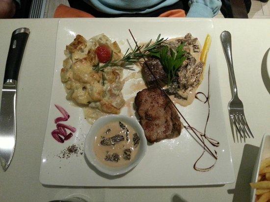Best Western Chavannes De Bogis: Restaurant