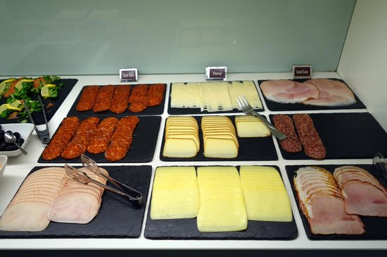 Hotel Palazzo Zichy: Some of the meats and cheeses