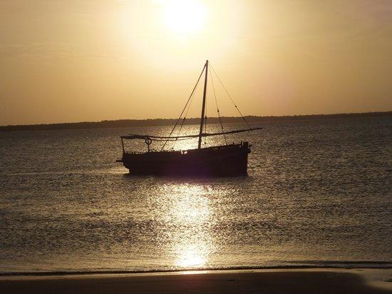 Kizingoni Beach: sunset